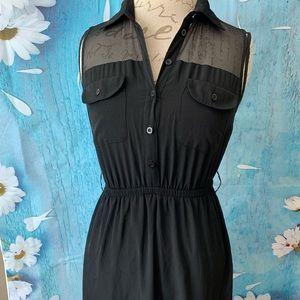 Forever 21 black mini dress S